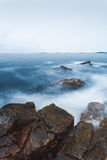 Norwegisches waterscape Stockfotografie