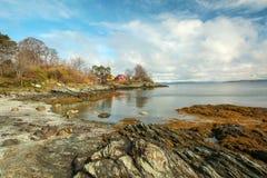 Norwegu krajobraz Zdjęcie Stock