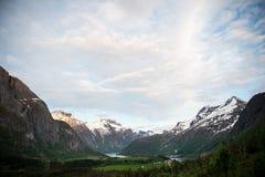 Norwegu krajobraz Fotografia Royalty Free