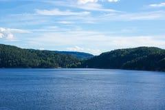 Norwegu krajobraz Obraz Royalty Free