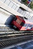 Norweigan alte Untergrundbahn Lizenzfreie Stockbilder