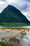 norweigian fiordu Obraz Royalty Free