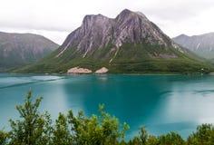 norweigian fiordu Obrazy Stock
