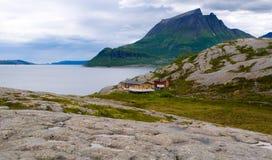 norweigian fjord fotografering för bildbyråer