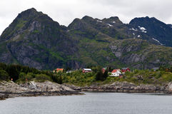 Norweigian fjord Stock Images