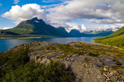 Norweigian fjord Royalty Free Stock Photo