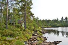 Norweska wieś Zdjęcie Royalty Free