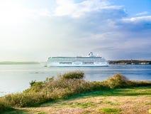 Norweski Breakaway statek wycieczkowy na hudsonie Zdjęcia Royalty Free