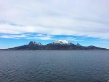 Norweski brzegowy outside Bodo Obraz Royalty Free
