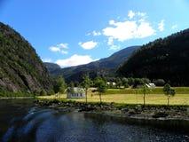 Norweski fjord Obraz Stock
