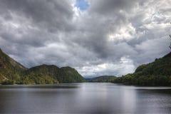 Norweski jezioro zdjęcia royalty free