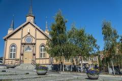 Norweski kościół Obrazy Royalty Free