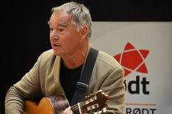 Norweski śpiewak ludowy Lars Klevstrand Zdjęcia Stock