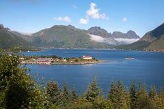 norweski widok Obraz Royalty Free