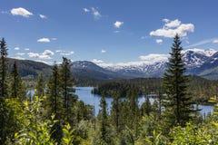 Norweski wieś krajobraz Fotografia Stock