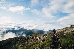 Norweski wycieczkować zdjęcie royalty free