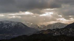 Norweskie góry Fotografia Royalty Free