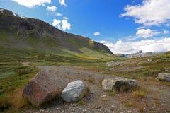 norweskie krajobrazowe góry zdjęcia royalty free