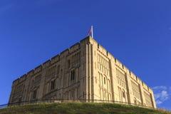 Norwich Castle Stock Photo