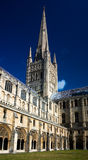 Norwich cathedral Stock Images