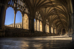 Norwich Cathedral Cloisters Royalty Free Stock Photography
