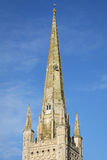 Norwich Cathedral England royalty free stock photography