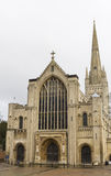 Norwich Cathedral, Norfolk, England Stock Image