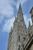 Norwich Cathedral spire Royalty Free Stock Photo