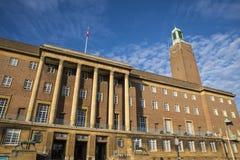 Norwich City Hall arkivfoto