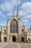 Norwich domkyrka Royaltyfria Foton
