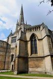 Norwich domkyrka & tornspira, Norfolk, England Royaltyfri Bild