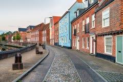 Norwich Houses Stock Photo