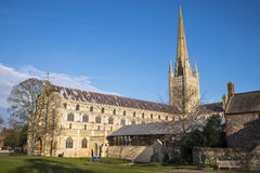 Norwich katedra Obraz Royalty Free