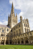 Norwich-Kathedrale Lizenzfreies Stockfoto