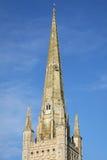 Norwich-Kathedrale England Lizenzfreie Stockfotografie