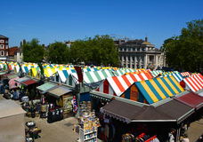 Norwich market Stock Photography