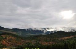 Norwich Mountains. Near Tuddal,Norway Stock Photos