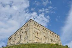 Norwich slott Norfolk Royaltyfri Fotografi