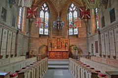 NORWICH, UK - JUNE 5, 2017: St Saviour`s Chapel inside the Cathedral Royalty Free Stock Photos