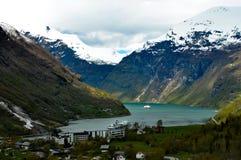 Norwigianfjord Stock Afbeeldingen