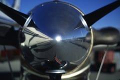 Nos śmigłowy silnik Zdjęcie Stock