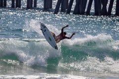 Nos abrimos de practicar surf a Griffin Colapinto 2018 foto de archivo