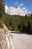 Nos alpes da dolomite Imagens de Stock