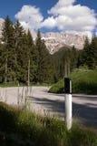 Nos alpes da dolomite Imagem de Stock Royalty Free