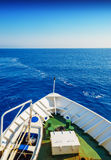 Nos av seglingskeppet Royaltyfri Foto