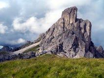 Nos cumes italianos Fotos de Stock Royalty Free