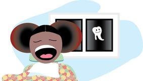 Nos dentis Imagem de Stock Royalty Free