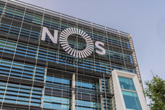 Nos Headquarters in Lisbon, Portugal Royalty Free Stock Photos