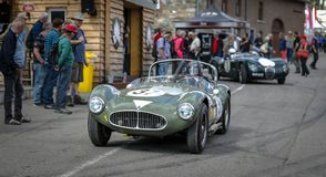 Nos termas Francorchamps os termas seis horas de troféu & Stirling Moss Trophy de Woodcote fotografia de stock royalty free
