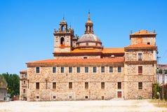 Nosa Senora da Antiga School. Monforte de Lemos, Galicia Royalty Free Stock Photos